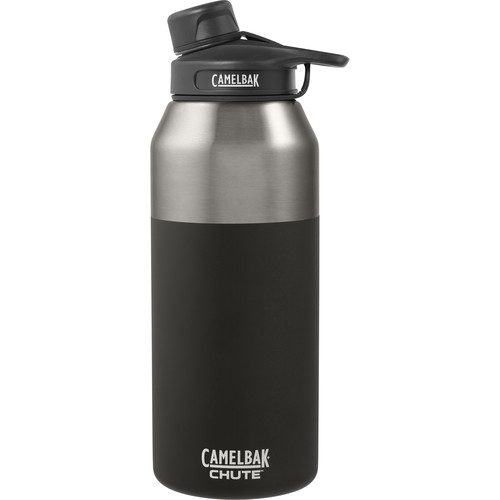 CAMELBAK Chute Vacuum Insulated Stainless Water Bottle (40 fl oz, Jet)