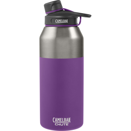 CAMELBAK Chute Vacuum Insulated Stainless Water Bottle (40 fl oz, Fig)