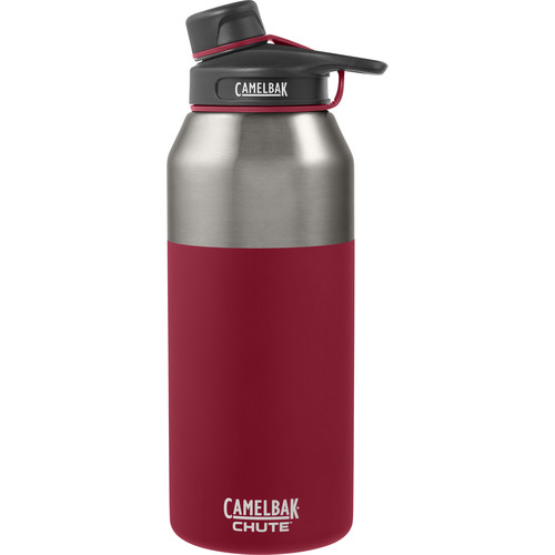 CAMELBAK Chute Vacuum Insulated Stainless Water Bottle (40 fl oz, Brick)