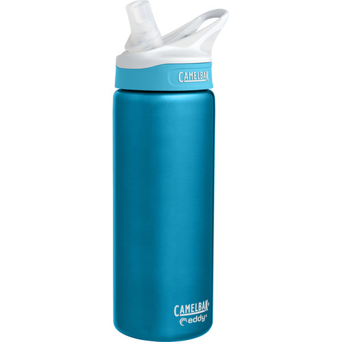 CAMELBAK eddy Vacuum-Insulated Stainless Steel Water Bottle (20 fl oz, Rain)