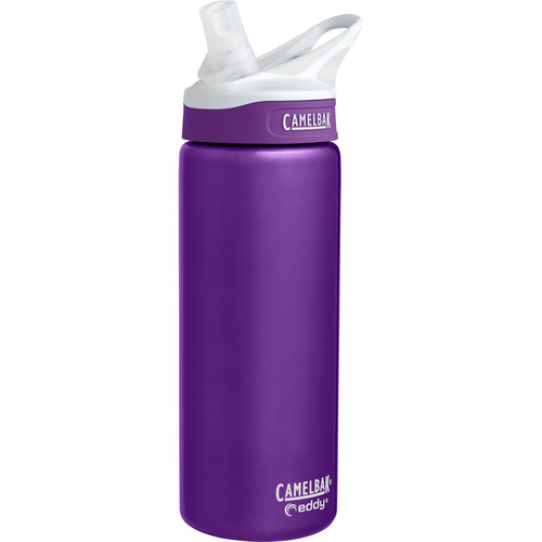 CAMELBAK eddy Vacuum-Insulated Stainless Steel Water Bottle (20 fl oz, Acai)