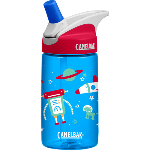 CAMELBAK 0.4L eddy Kids Insulated Water Bottle (Space Robots)
