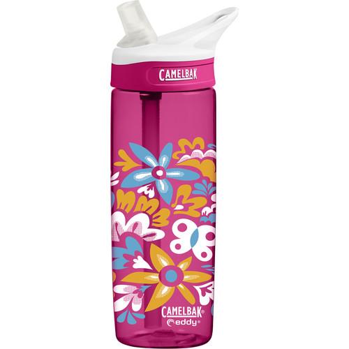 CAMELBAK eddy Water Bottle (20 fl oz, Pop Floral)