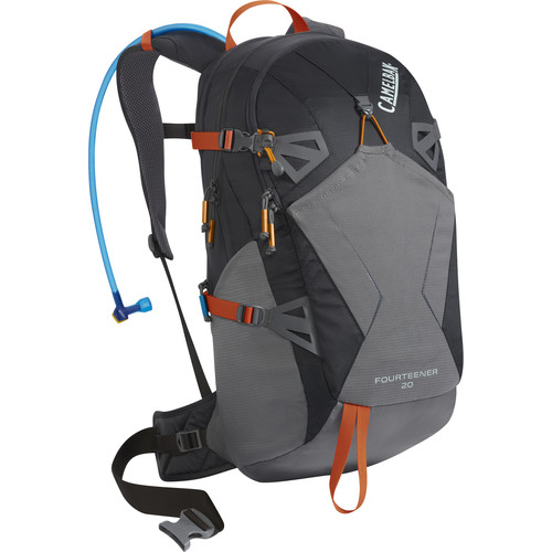 CAMELBAK Fourteener 20 18 L Hydration Backpack with 3L Reservoir (Charcoal/Graphite)