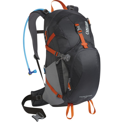 CAMELBAK Fourteener 24 22 L Hydration Backpack with 3L Reservoir (Charcoal/Graphite)