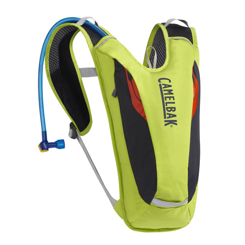 CAMELBAK Dart 3L Backpack with 1.5L Reservoir (Lime Punch/Coral)