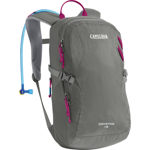 CAMELBAK Day Star 18 Women's 16L Backpack with 2L Reservoir (Graphite/Bright Fuschia)