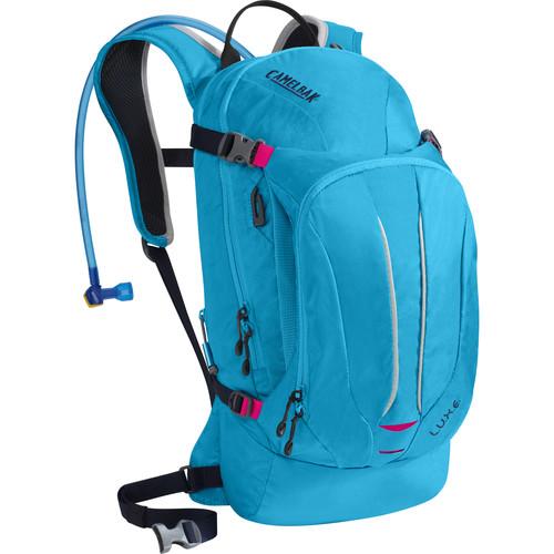 CAMELBAK L.U.X.E. 7L Hydration Backpack with 3L Reservoir (Atomic Blue/Black Iris)