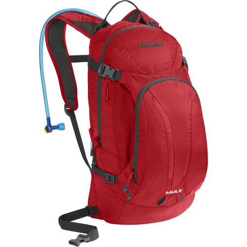 CAMELBAK M.U.L.E. 9L Hydration Bike Pack with 3L Reservoir (Barbados Cherry)