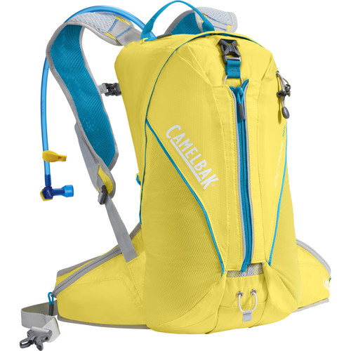 CAMELBAK Octane 18X Hydration Backpack with 3L Reservoir (Yellow/Atomic Blue)