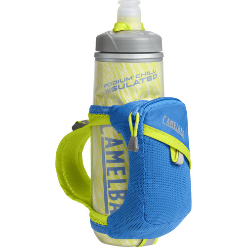 CAMELBAK Quick Grip Chill Water Bottle and Holster (21 fl oz, Electric Blue)