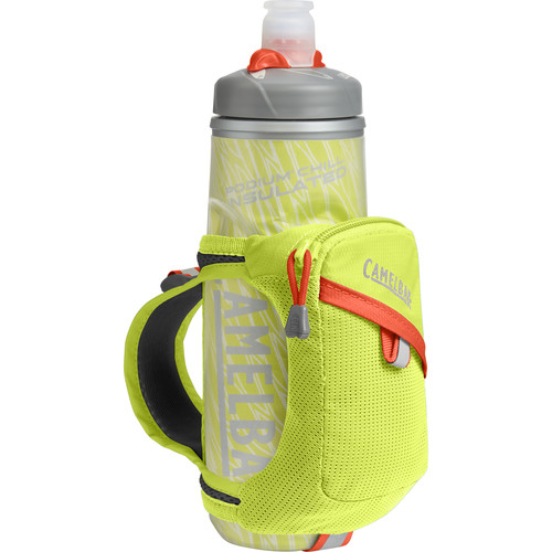 CAMELBAK Quick Grip Chill Water Bottle and Holster (21 fl oz, Lime Punch)