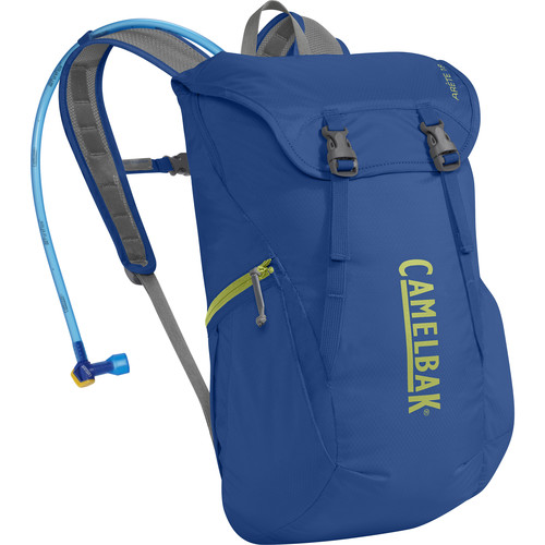 CAMELBAK Arete 18 Hydration Pack (Olympian Blue/Green Oasis)