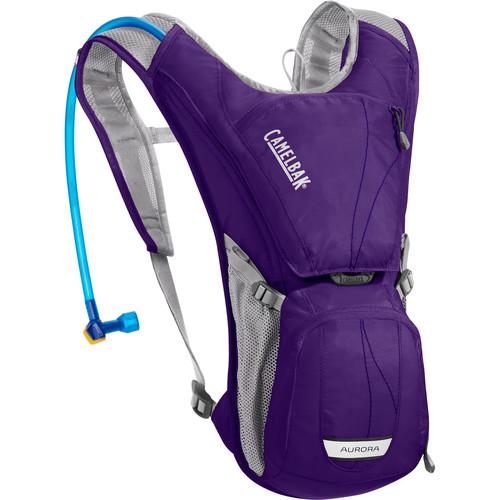 CAMELBAK Aurora 3L Hydration Pack for Women (2L Antidote Reservoir, Parachute Purple/Blue Depths)