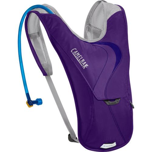 CAMELBAK Charm Women's Hydration Bike Pack with 1.5L Reservoir (Parachute Purple/Blue Depths)