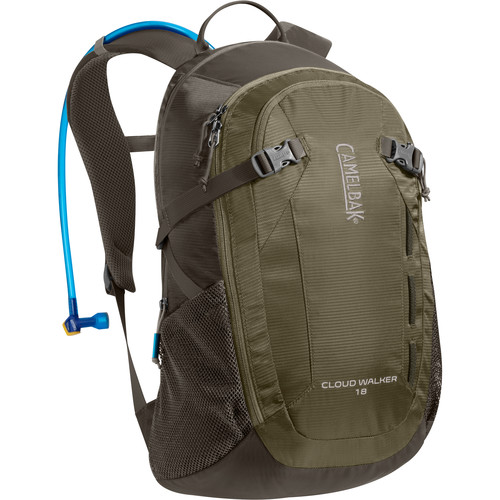CAMELBAK Cloud Walker 18 Hydration Pack (2L Antidote Reservoir, Dusky Green/Black Olive)