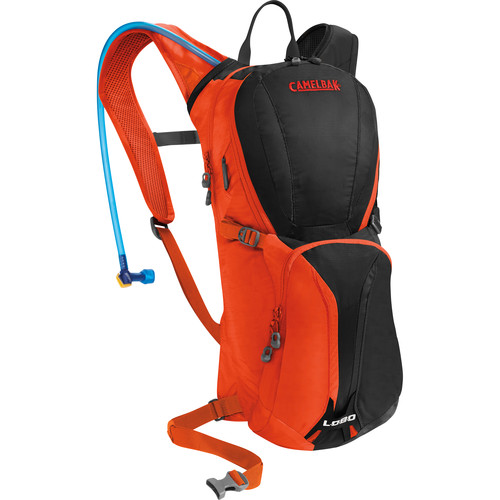CAMELBAK Lobo 6L Hydration Bike Pack with Reservior (Charcoal/Ember)