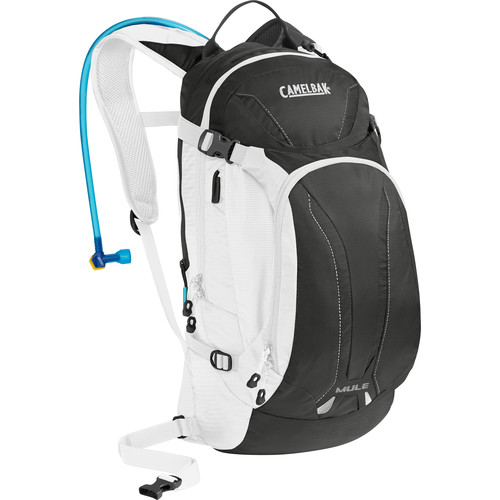 CAMELBAK M.U.L.E. 9L Hydration Bike Pack with 3L Reservoir (Charcoal/White)