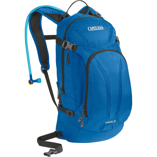 CAMELBAK M.U.L.E. 9L Hydration Bike Pack with 3L Reservoir (Imperial Blue/Charcoal)