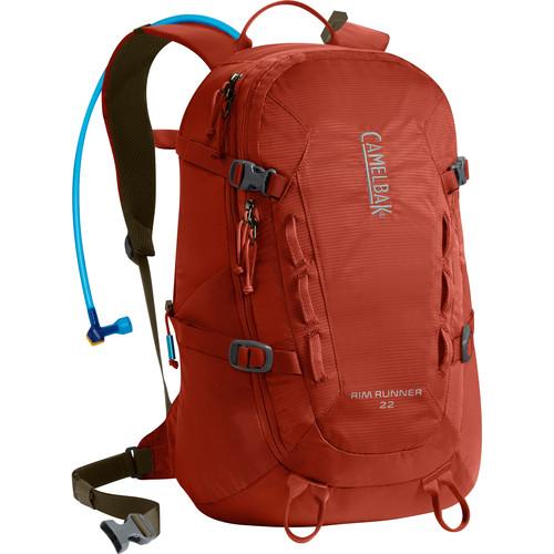CAMELBAK Rim Runner 22 Backpack with 3L Reservoir (Rooibos/Black Olive)