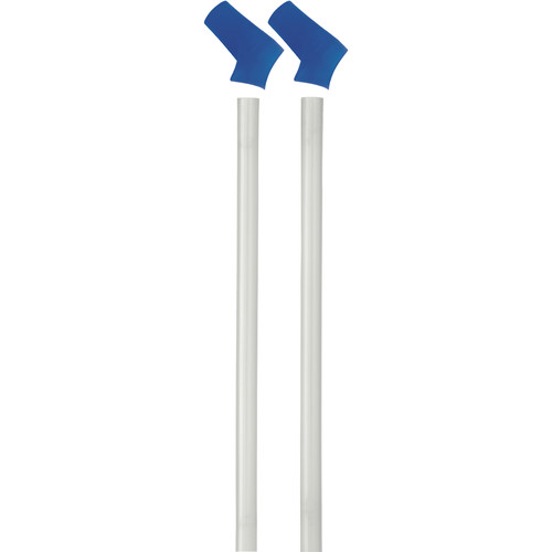 CAMELBAK Replacement Bite Valves & Straws for Eddy Bottle Kit (2-Pack, Blue)