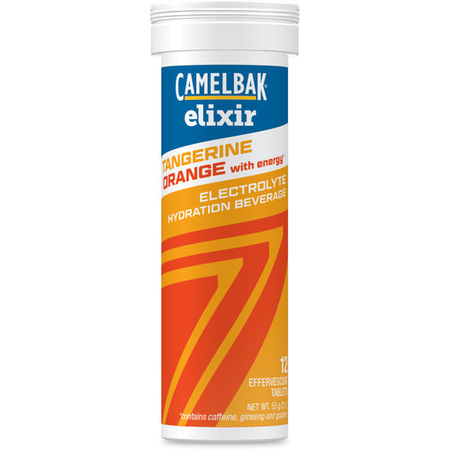 CAMELBAK Elixir Tangerine Orange with Caffeine Electrolyte Hydration Beverage (12 Tablets)