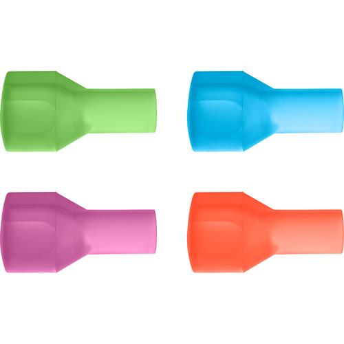 CAMELBAK Big Bite Valves 4-Color Pack (Orange, Pink, Blue, Green)