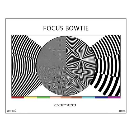 Cameo Focus Bowtie Chart