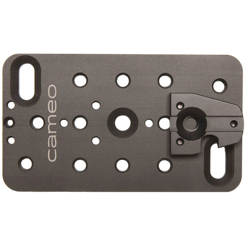 """CAMEOGEAR V-Lock Mounting Plate for Wireless Receivers (2 x 4"""")"""