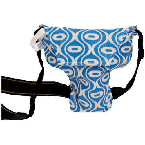 Camera Coats Rain Slicky Waterproof DSLR Camera Bag (Free Spirit Blue Mod, PRO)