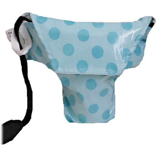 Camera Coats Rain Slicky Waterproof DSLR Camera Bag (Aqua Dots, Super PRO)
