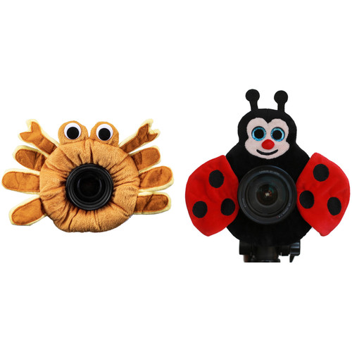 Camera Creatures Look-at-Me Ladybug and Captivating Crab Posing Prop Kit