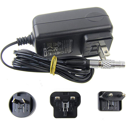 Camera Motion Research 2-Pin LEMO to AC Adapter Cable (6')