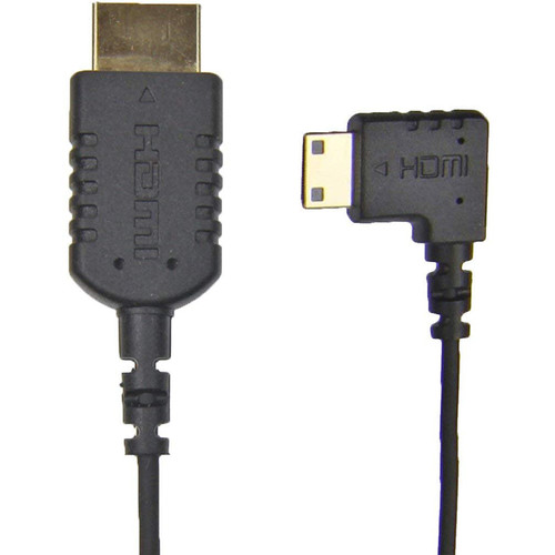 "Camera Motion Research UFAR90C15 Thin Right-Angle Mini-HDMI to HDMI Cable (15"")"