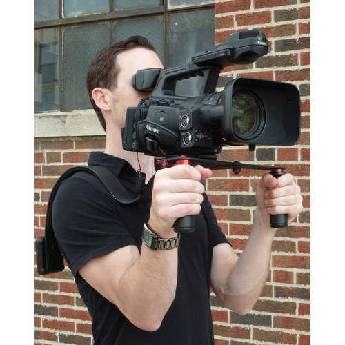 CameraRibbon Dual Grip Handle Bar for CameraRibbon ENG Style Shoulder Rigs