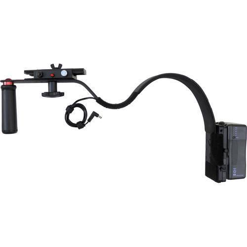 CameraRibbon Shoulder Rig Camera Support with V-Mount Battery Plate for Blackmagic Cinema or 4K Camera