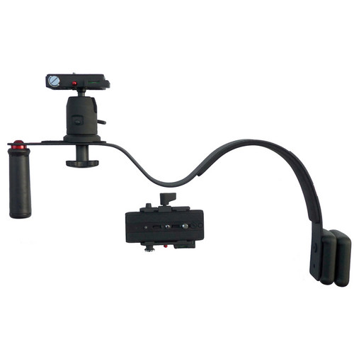 CameraRibbon QRD Shoulder Rig Bundle for DSLRs & Small Camcorders