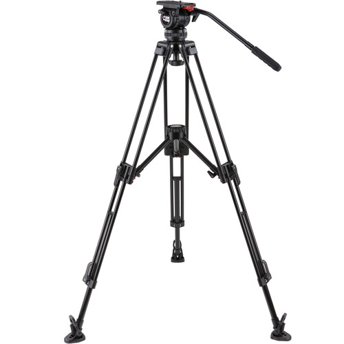 Camgear DV6P-ALMLS75 75mm Tripod System with Mid-Level Spreader