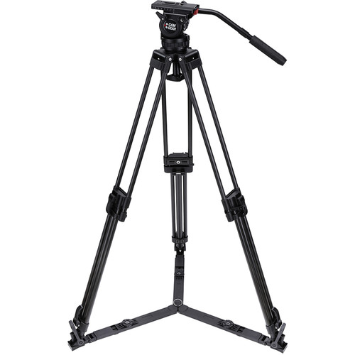 Camgear DV6P CF Kit with Tripod System & Fluid Head
