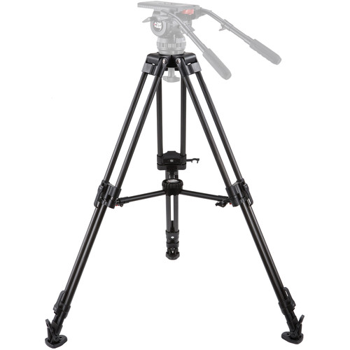 Camgear EFP100/CF2M 2-Stage 100mm Bowl Tripod with Mid-Level Spreader