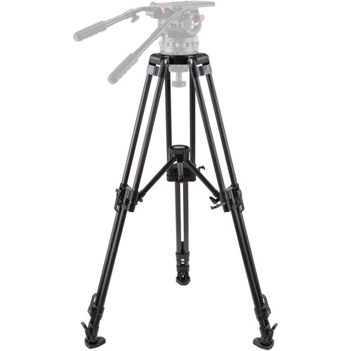 Camgear EFP150/CF2M 2-Stage 150mm Bowl Tripod with Mid-Level Spreader