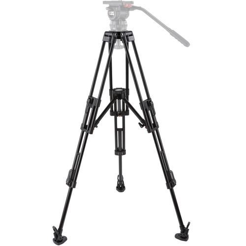 Camgear ENG/AL2 2-Stage 100mm Bowl Tripod with Mid-Level Spreader (Aluminum)