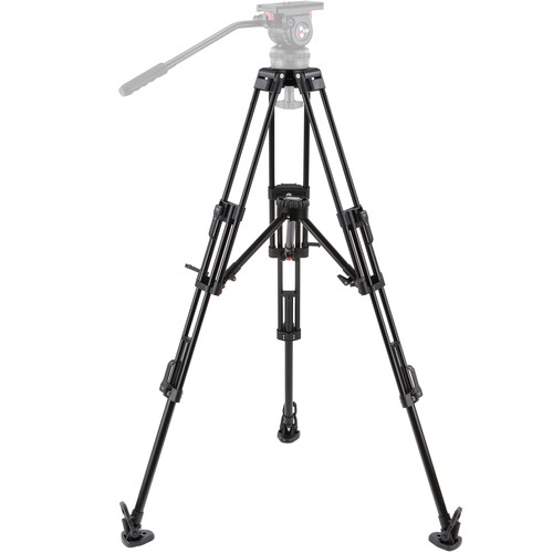 Camgear T100/AL2-MLS75 Tripod System with Mid-Level Spreader