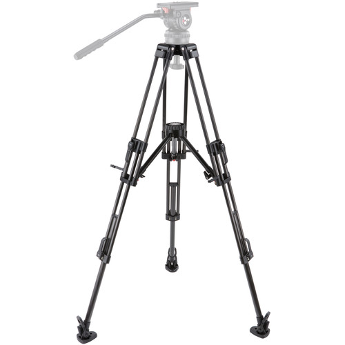 Camgear T100/CF2-MLS75 Tripod System with Mid-Level Spreader