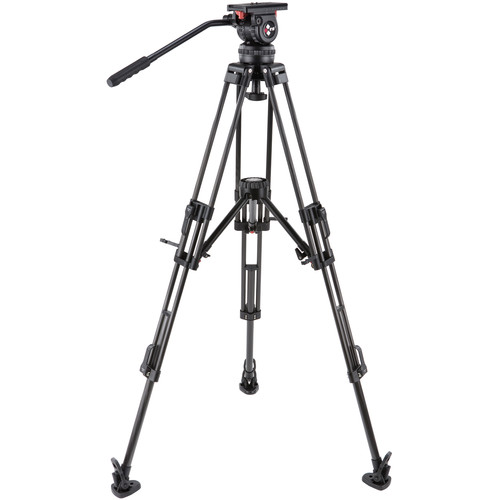 Camgear V10 CF MLS100 Fluid Head and Carbon Fiber Tripod Kit (100mm)