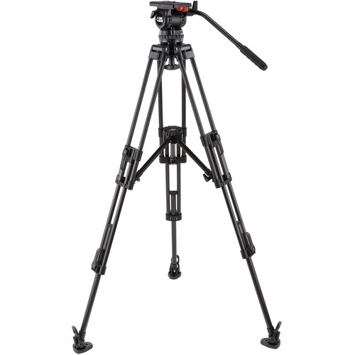 Camgear V12 CF MLS100 Fluid Head & Carbon Fiber Tripod Kit (100mm)