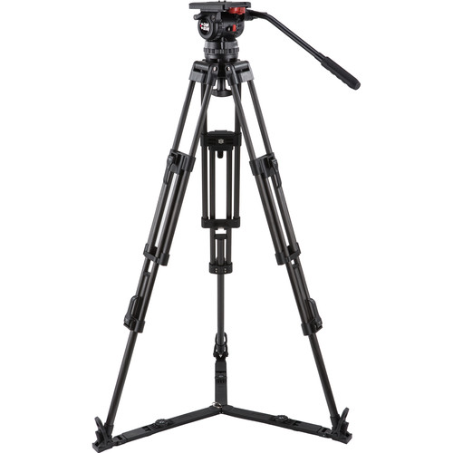 Camgear V15P CF Fluid Head & Carbon Fiber Tripod Kit (100mm)