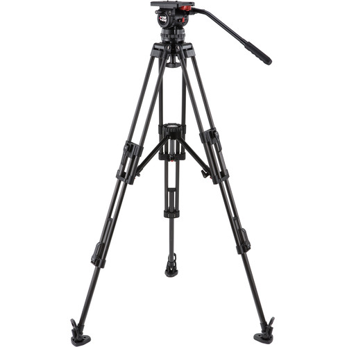 Camgear V15P CF MLS100 Fluid Head & Carbon Fiber Tripod Kit (100mm)