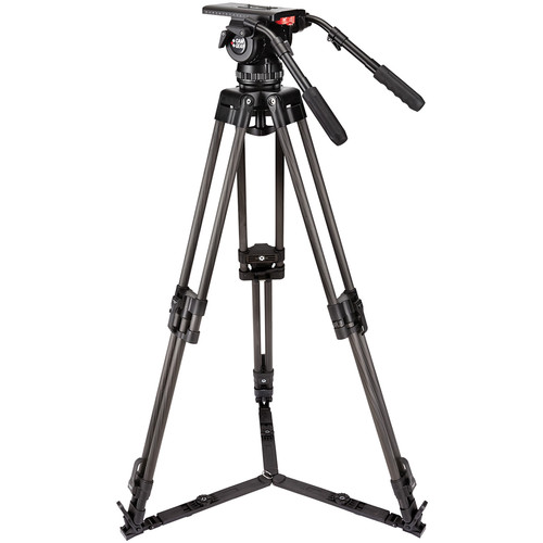 Camgear V25P EFP Fluid Head & Carbon-Fiber Tripod Kit (100mm)