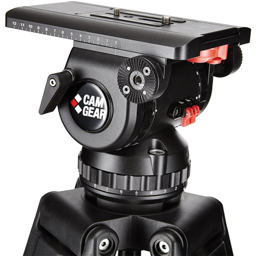 Camgear V25P 100mm Fluid Head